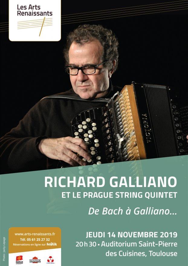 Arts Renaissants - Richard Galliano