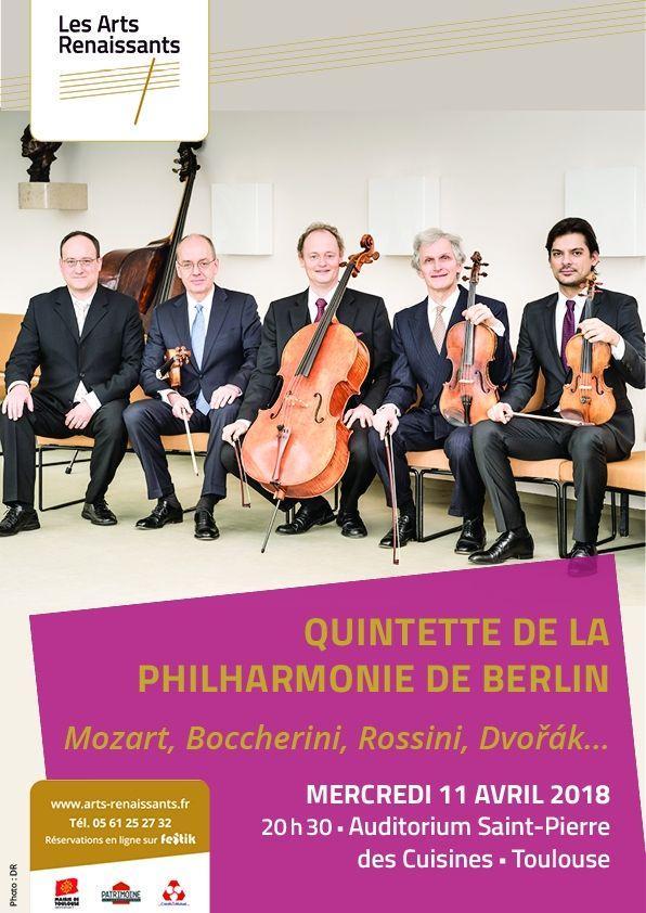 Arts Renaissants - Quinquette de la Philharmonie de Berlin