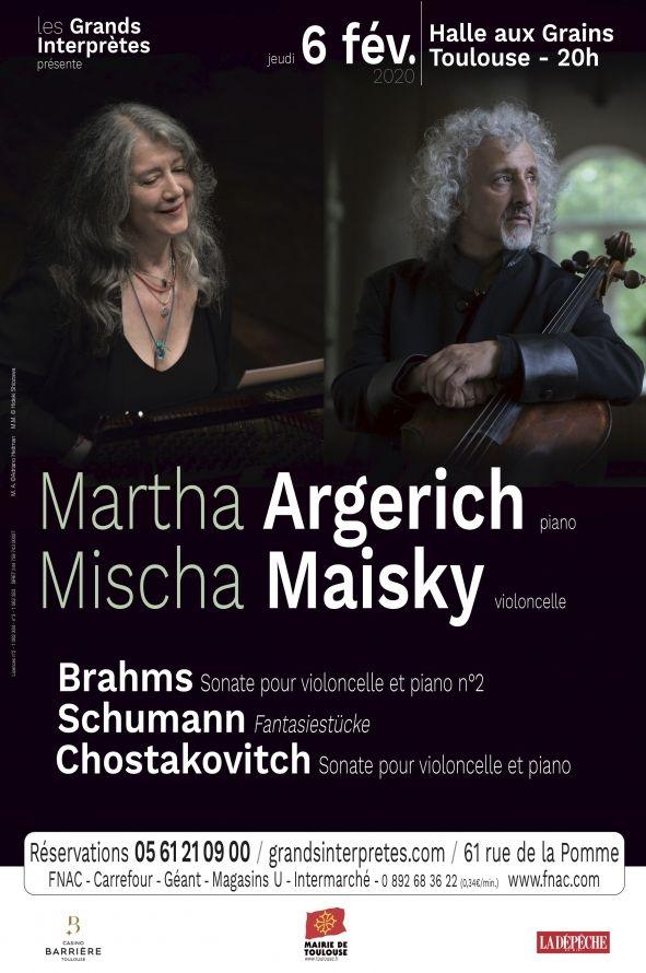 Les Grands Interprètes - Martha Argerich & Mischa Maisky