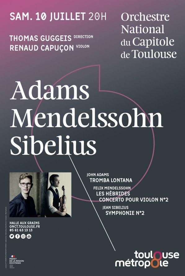 Orchestre National du Capitole - Thomas Guggeis & Renaud Capuçon