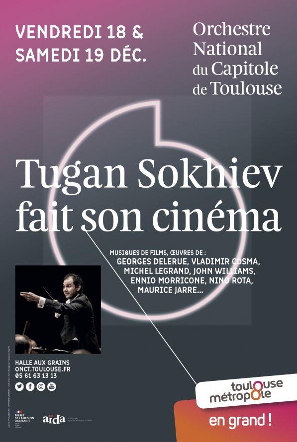 Orchestre national du Capitole - Tugan Sokhiev fait son cinéma