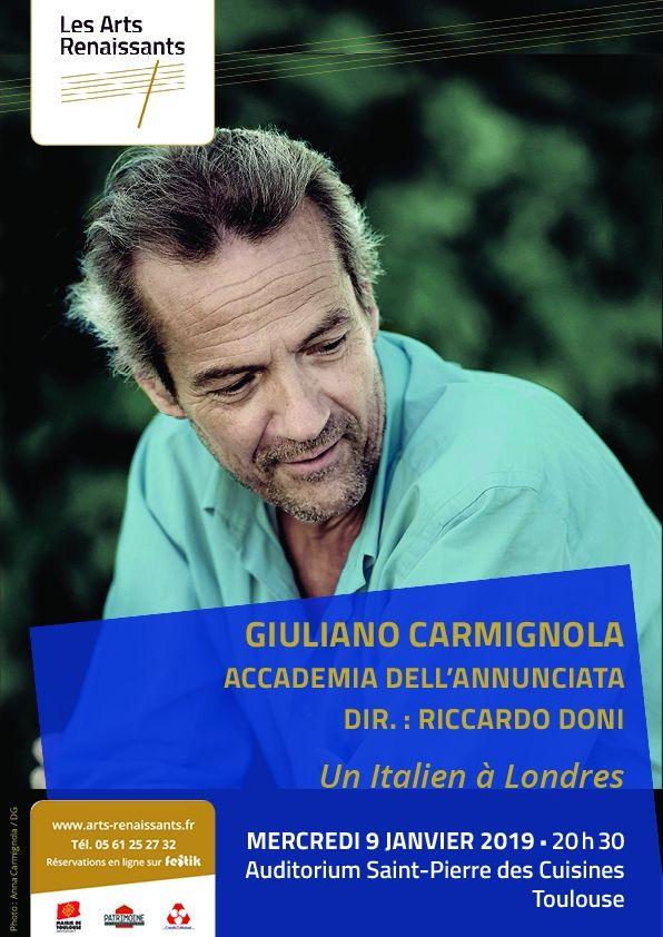 Arts Renaissants - Giuliano Carmignola