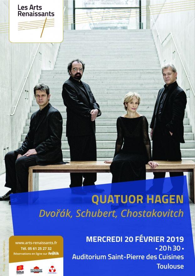 Arts Renaissants - Quatuor Hagen