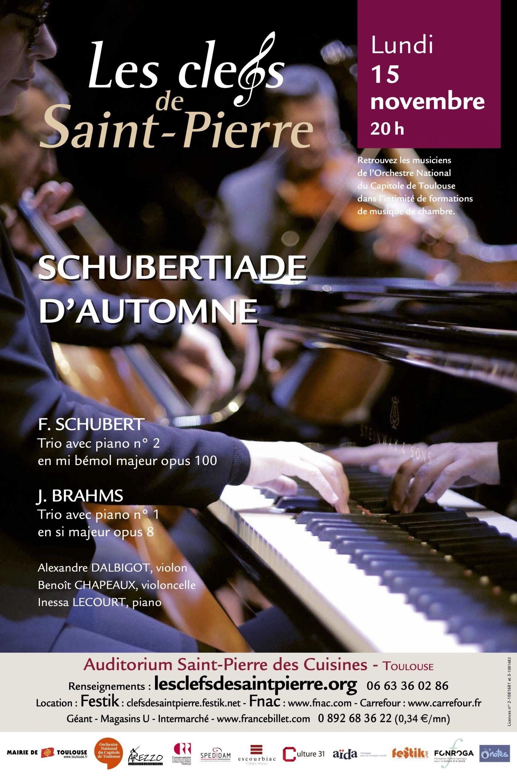 Les Clefs de Saint-Pierre - Schubertiade d'automne