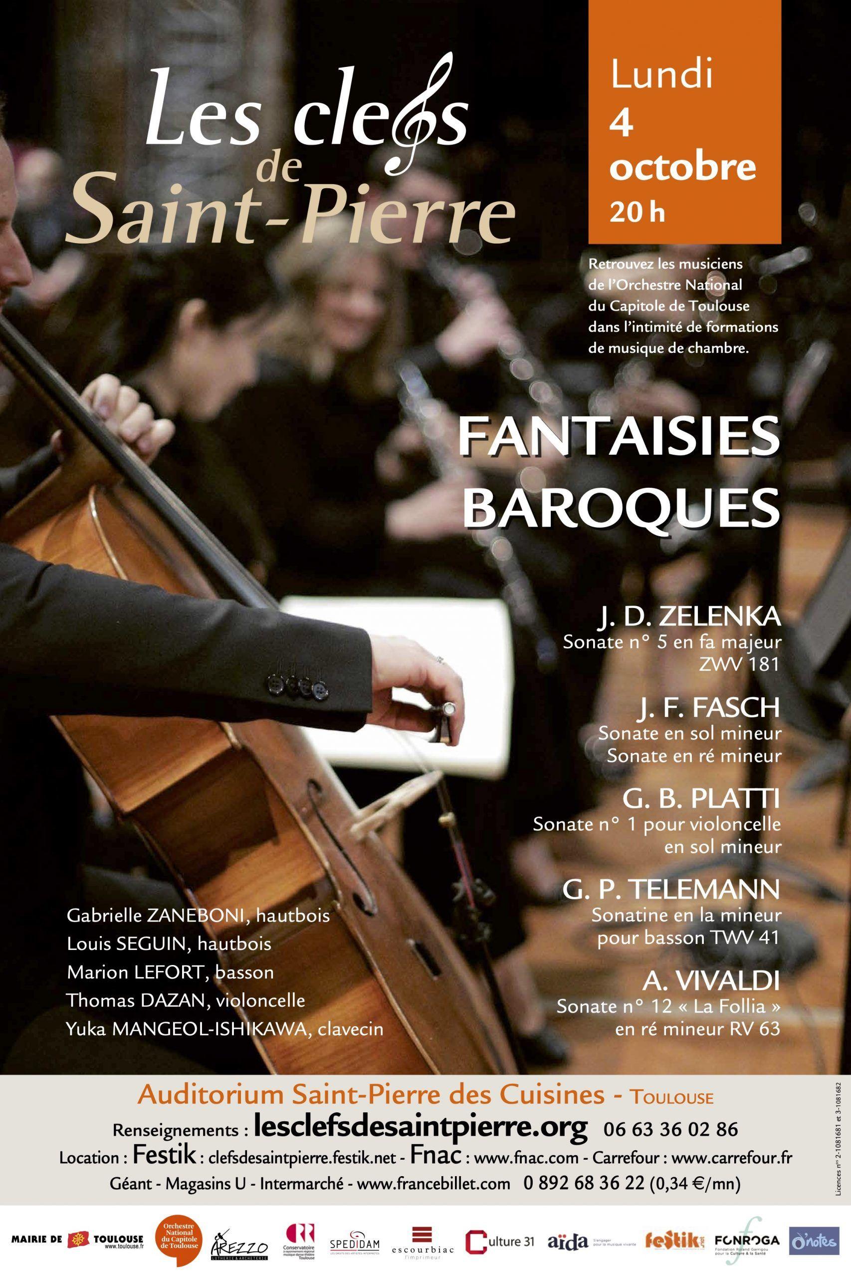 Les Clefs de Saint-Pierre - Fantaisies Baroques
