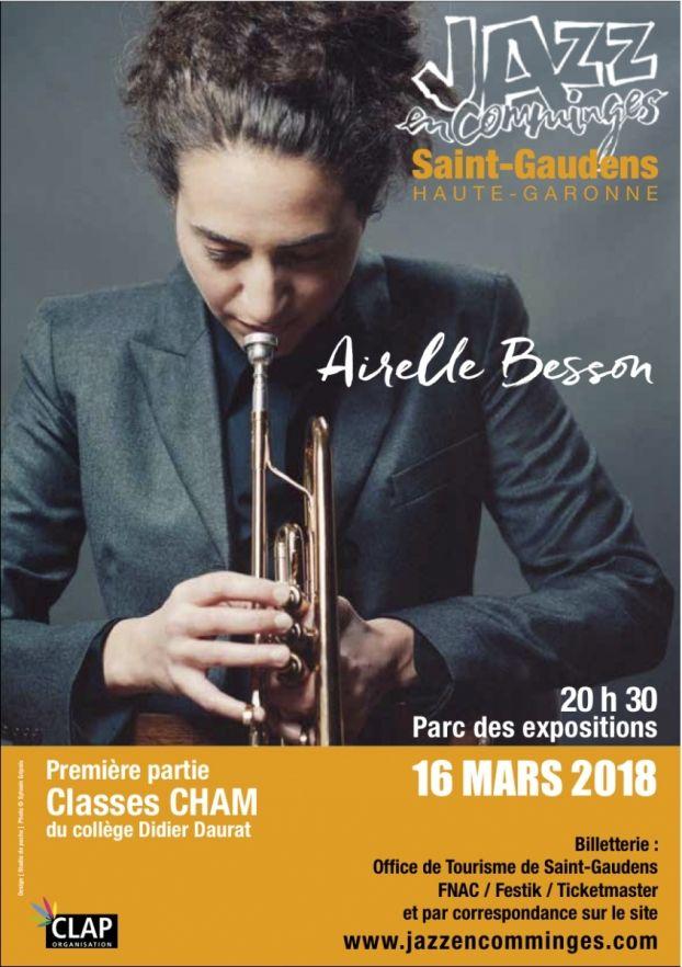 Jazz en Comminges - Airelle Besson