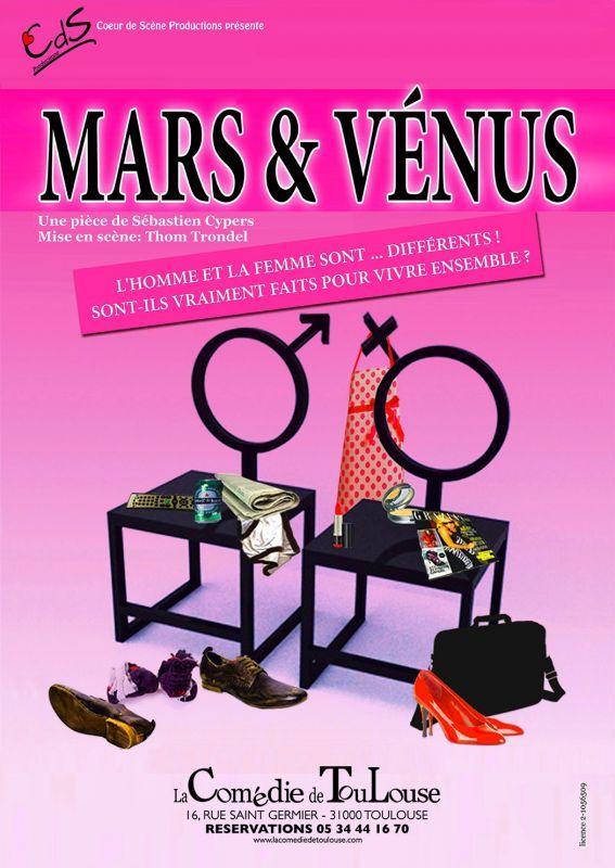 La Comédie de Toulouse - Mars & Vénus