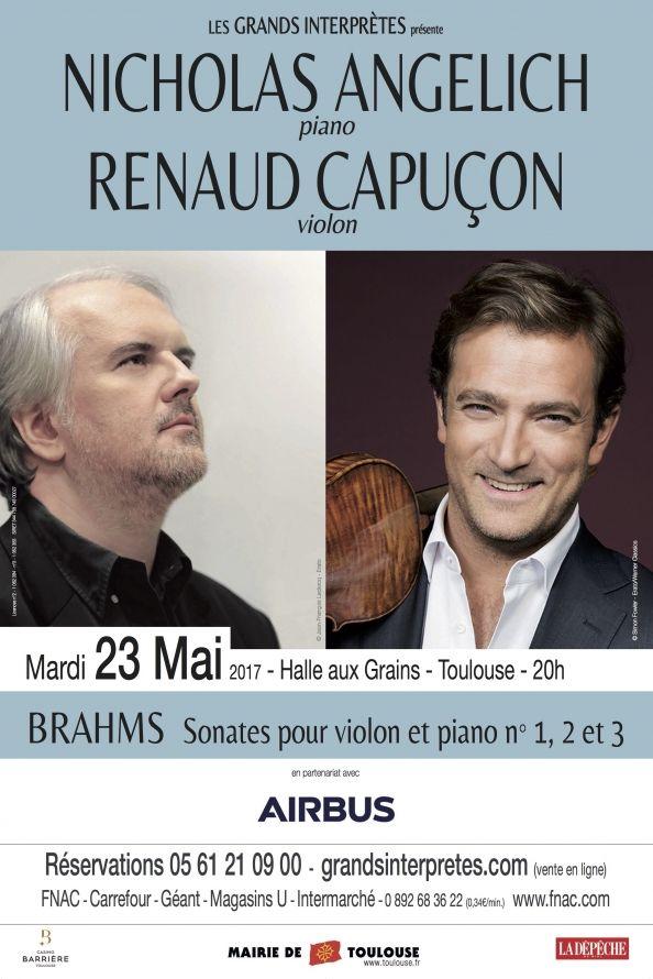 Les Grands Interprètes - Nicholas Angelich & Renaud Capuçon