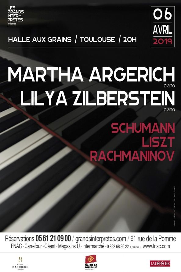 Les Grands Interprètes - Martha Argerich & Lilya Zilberstein
