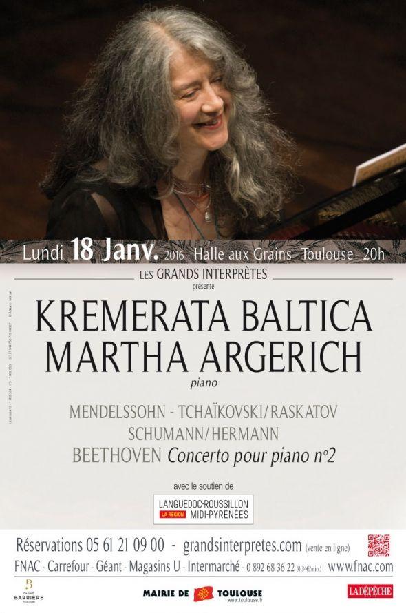 Les Grands Interprètes - Kremerata Baltica Martha Argerich