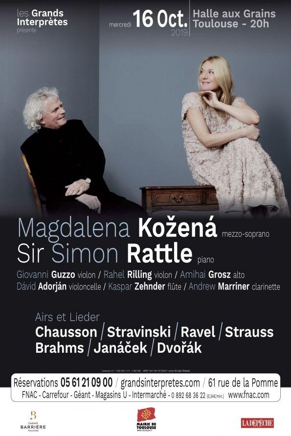Les Grands Interprètes - Magdalena Kozená & Simon Rattle