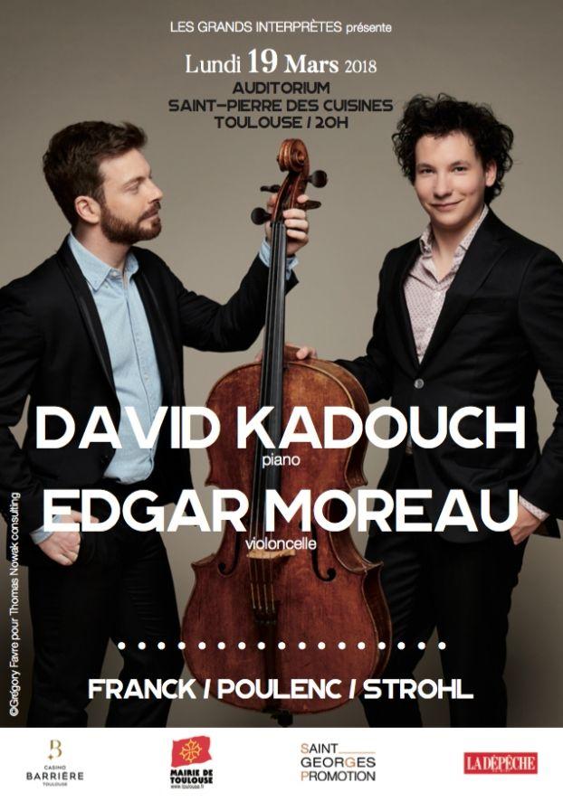 Les Grands Interprètes - David Kadouch & Edgar Moreau