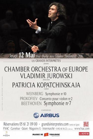 Les Grands Interprètes - Chamber orchestra of Europe Vladimir Jurowski