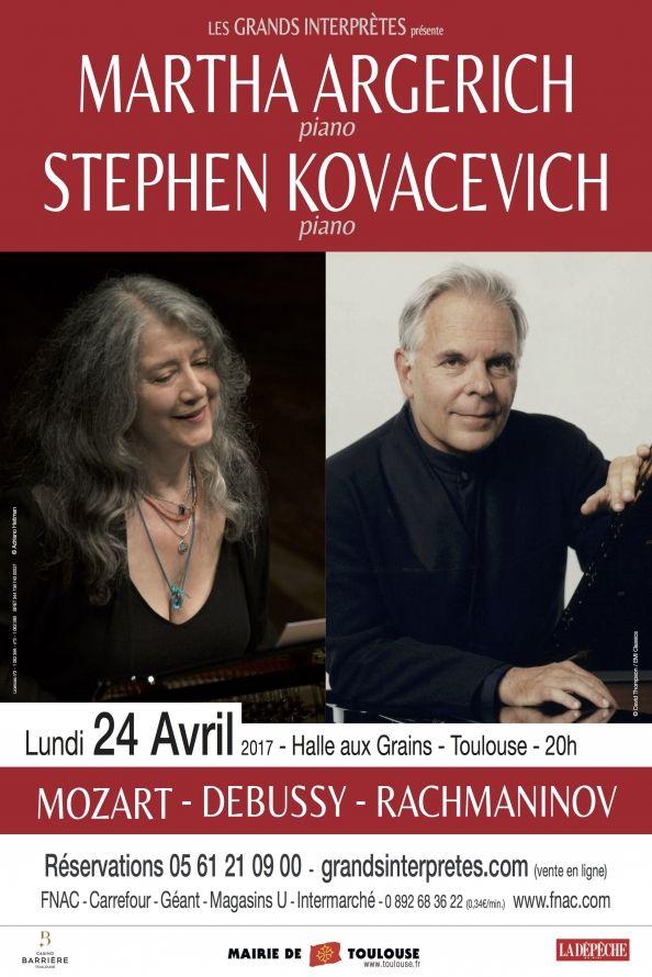 Les Grands Interprètes - Martha Argerich & Stephen Kovacevich