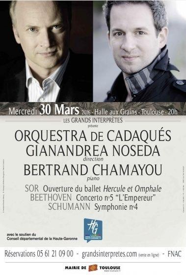 Les Grands Interprètes - Orquestra de Cadaqués Gianandrea Noseda