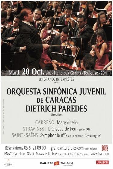 Les Grands Interprètes - Orchesta sinfónica juvenil de Caracas