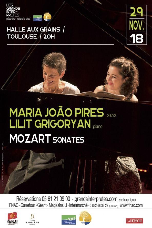 Les Grands Interprètes - Maria João Pires & Lilit Grigoryan