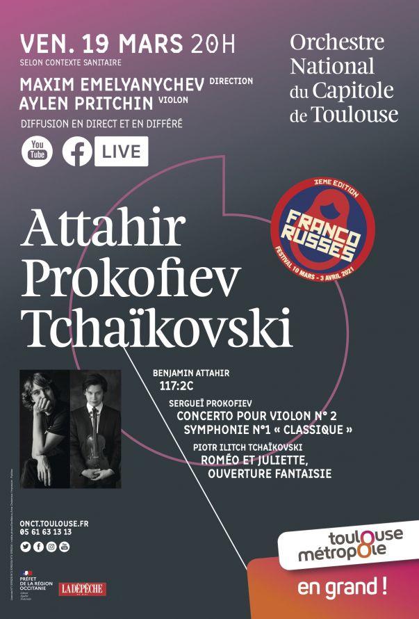 Orchestre national du Capitole - Maxim Emelyanychev