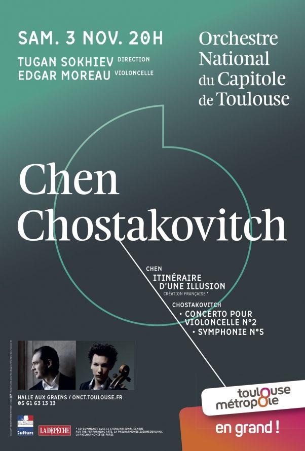 Orchestre National du Capitole - Chen Chostakovitch
