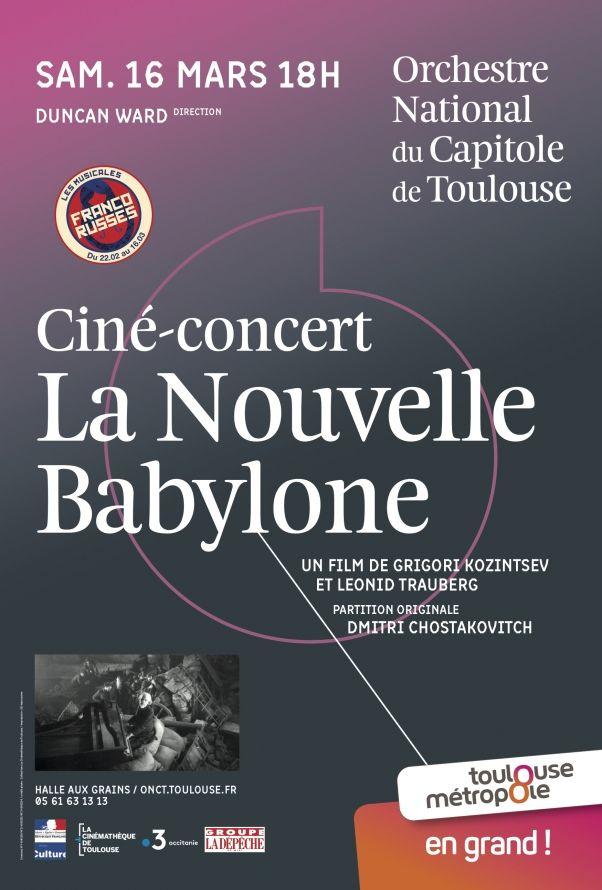 Orchestre National du Capitole - La nouvelle Babylone