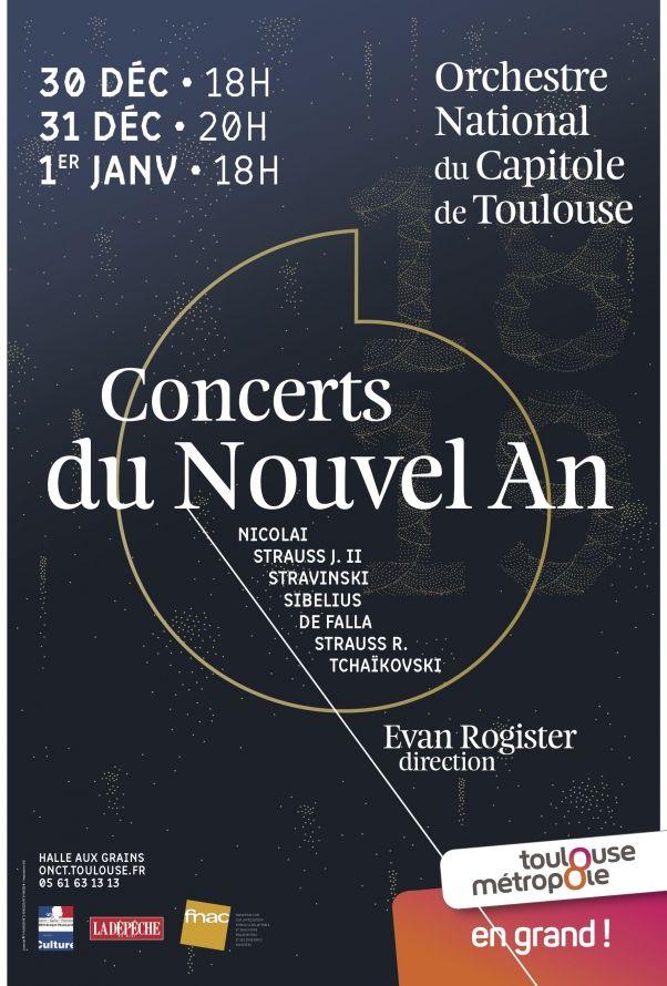 Orchestre National du Capitole - Concerts du Nouvel An