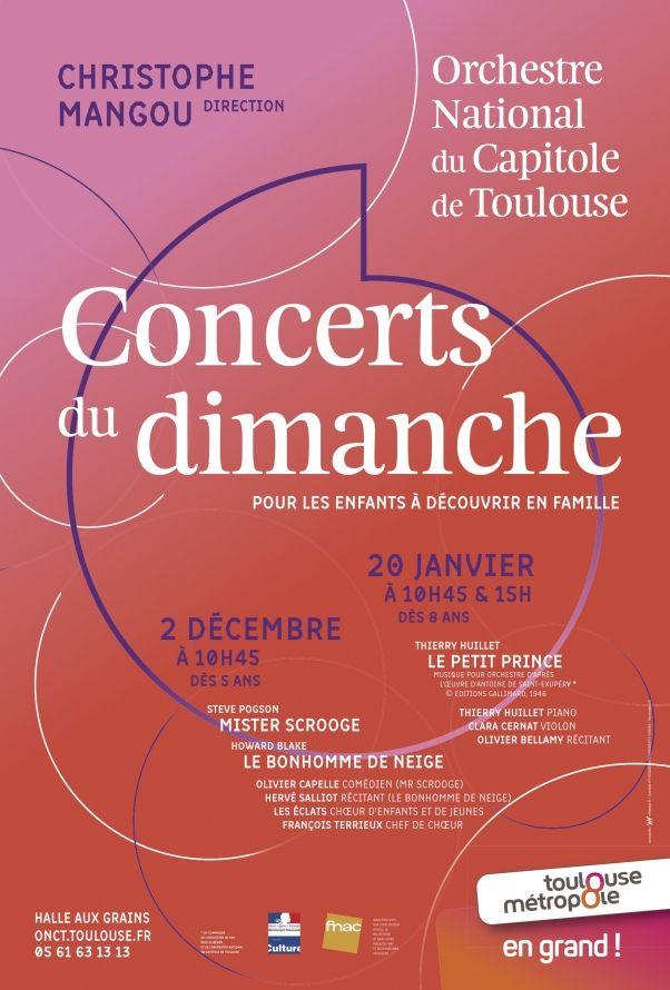 Orchestre National du Capitole - Concert du dimanche
