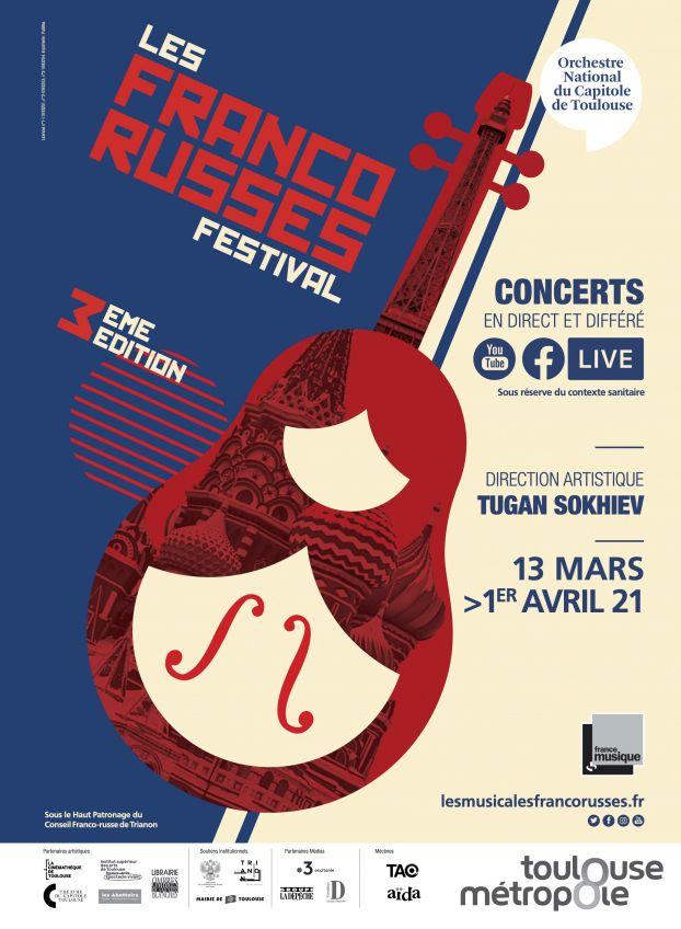 Orchestre national du Capitole - Franco-Russe festival