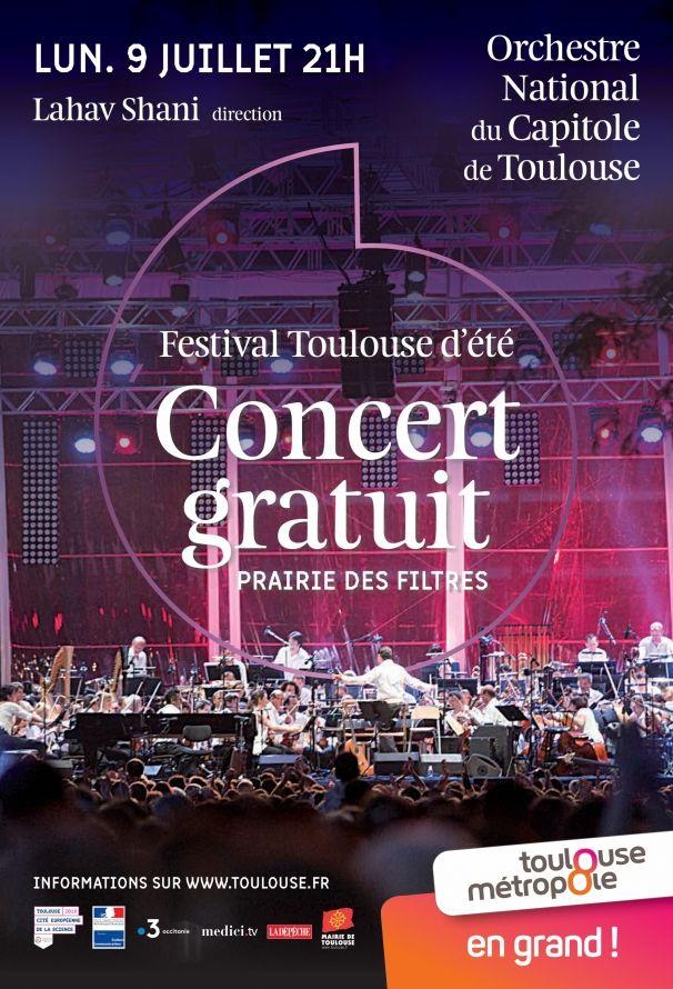 Orchestre National du Capitole - Concert Gratuit