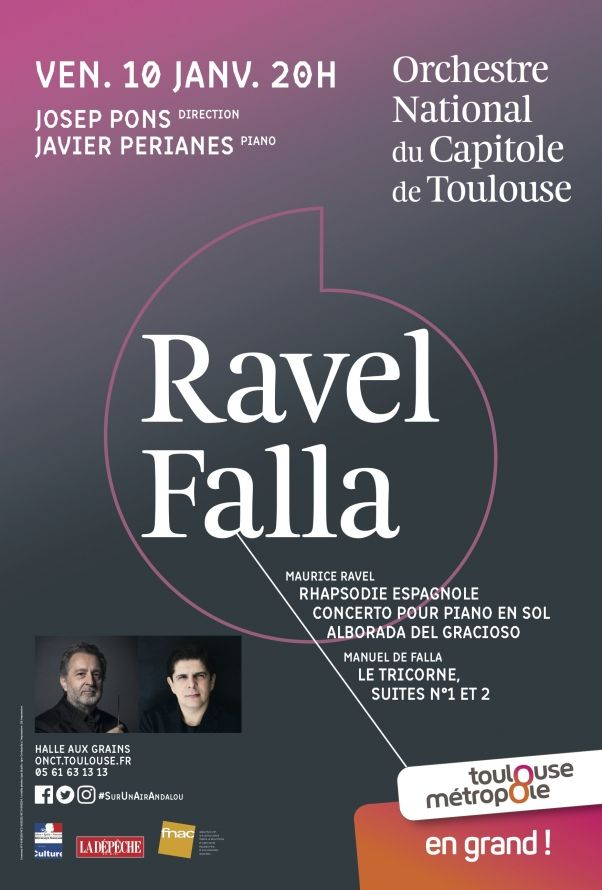 Orchestre National du Capitole - Ravel Falla