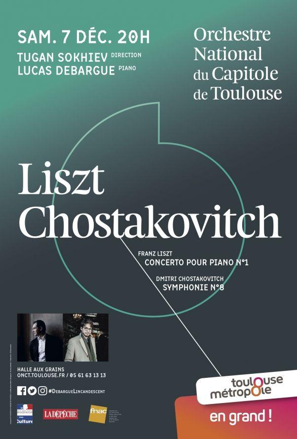 Orchestre National du Capitole - Liszt Chostakovitch