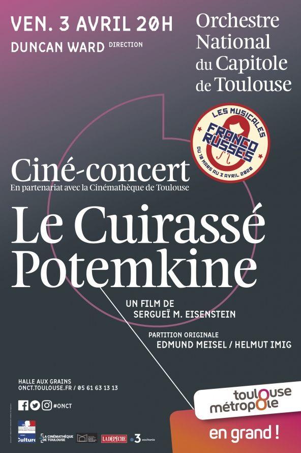 Orchestre National du Capitole - Le Cuirassé Potemkine