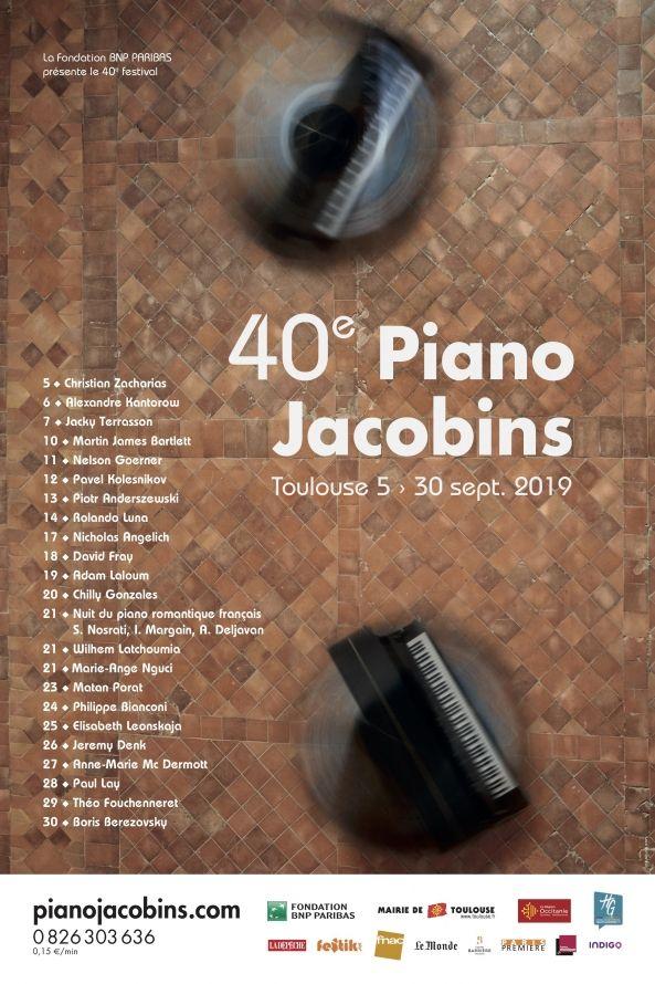 Piano aux Jacobins 2019