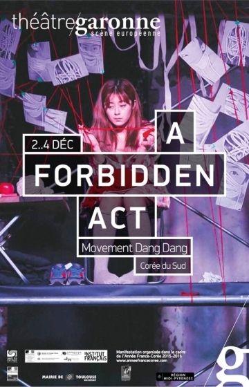 Théâtre Garonne - A forbidden act