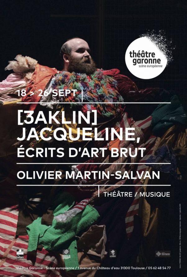Théâtre Garonne - Jacqueline