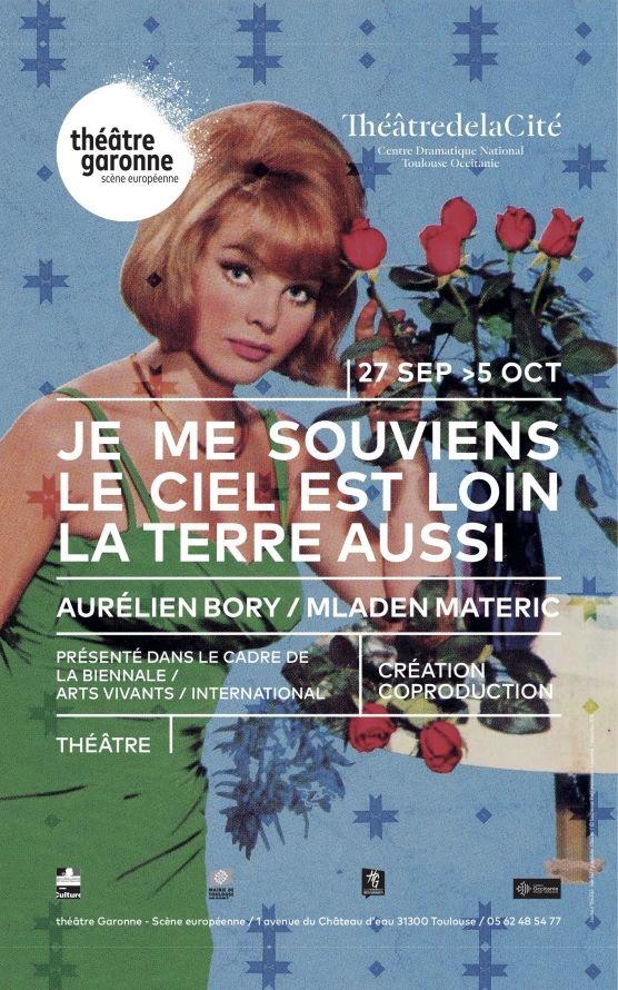 Théâtre Garonne - Je me souviens le ciel est loin la terre aussi