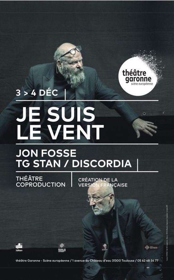 Théâtre Garonne - Je suis le vent