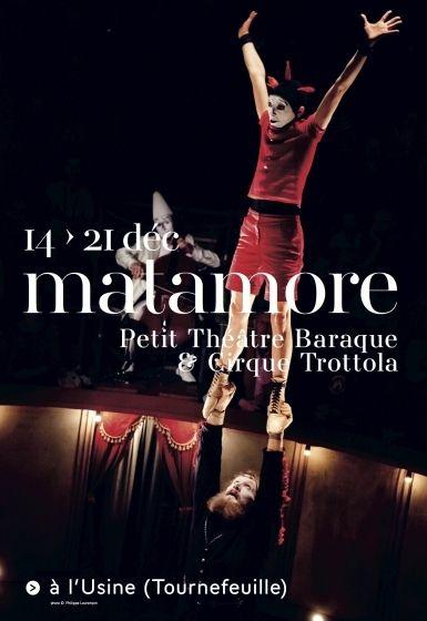 Théâtre Garonne - Matamore