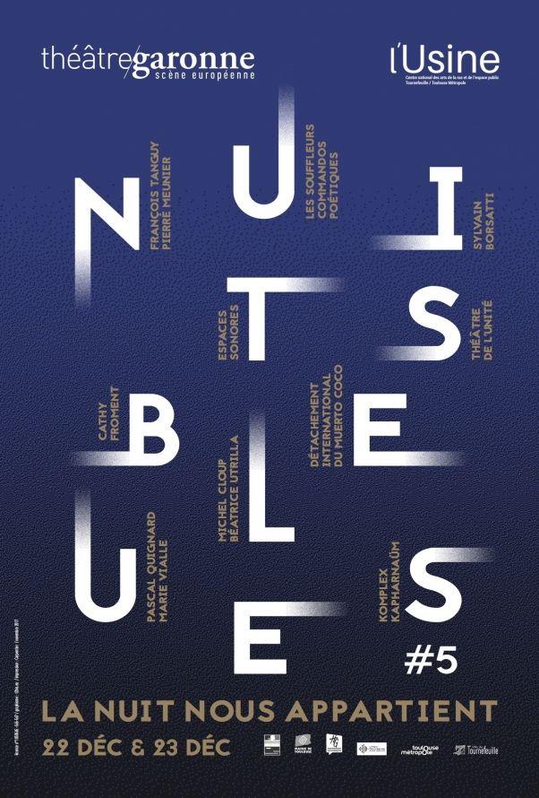 Théâtre Garonne - Nuits Bleues