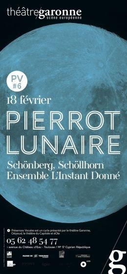 Théâtre Garonne -  Pierrot Lunaire