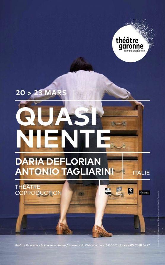Théâtre Garonne - Quasi niente