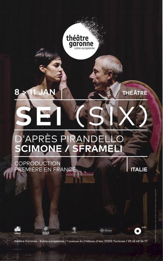 Théâtre Garonne - Sei (six)