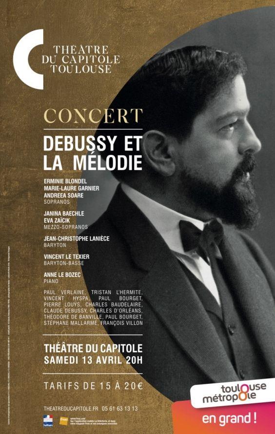 Théâtre du Capitole - Debussy et la mélodie