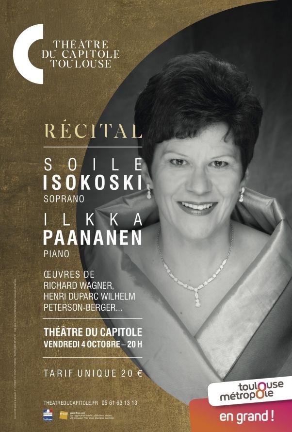 Théâtre du Capitole - Soile Isokoski