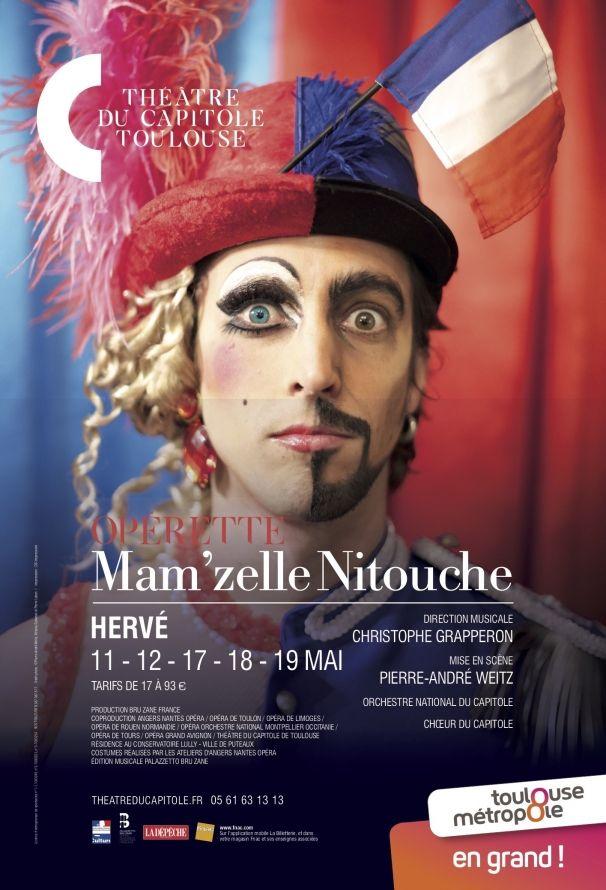 Théâtre du Capitole - Mam'zelle Nitouche
