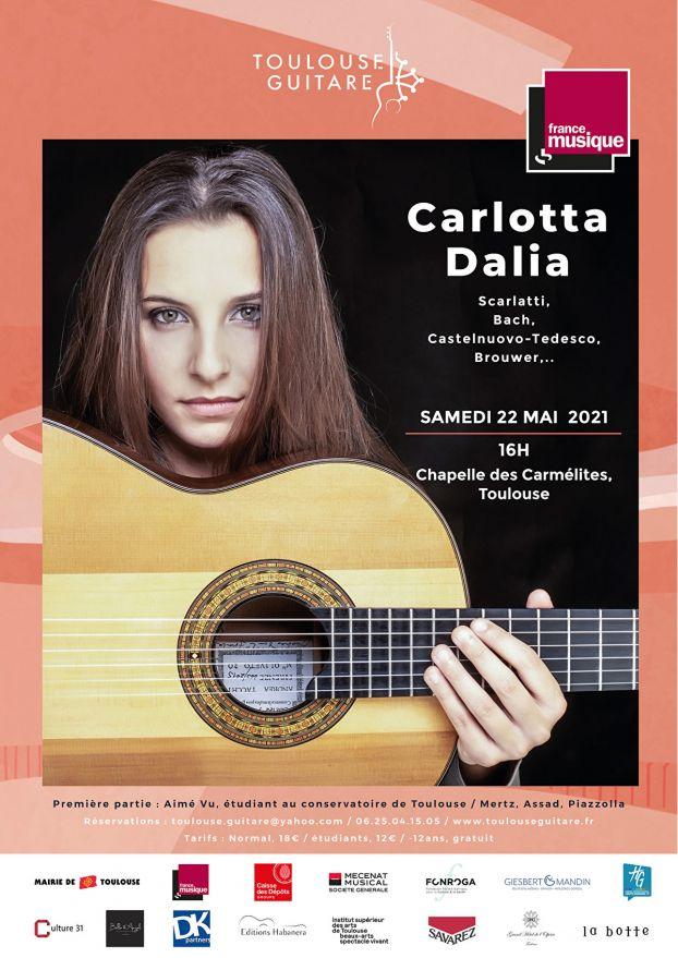 Toulouse Guitare - Carlotta Dalia