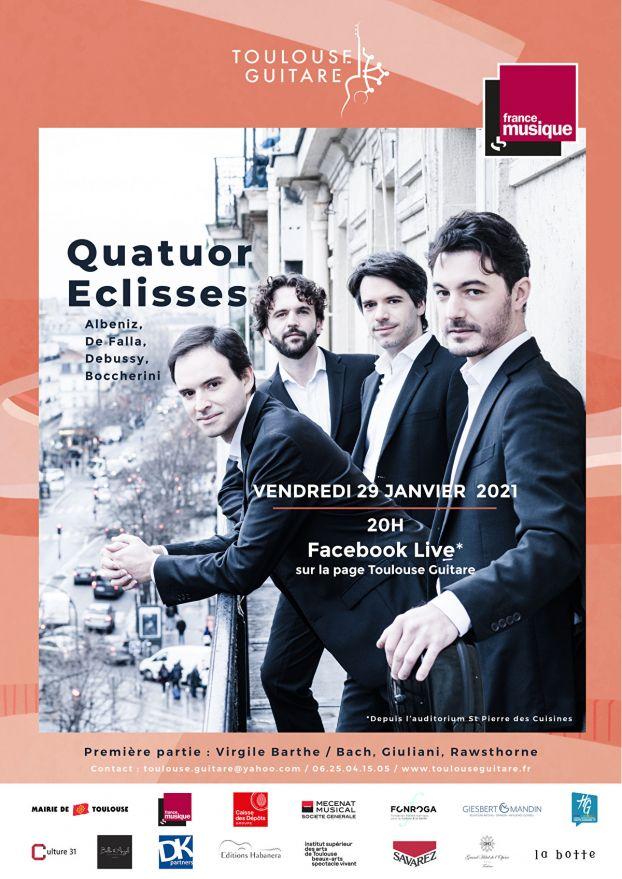 Toulouse Guitare - Quatuor Eclisses