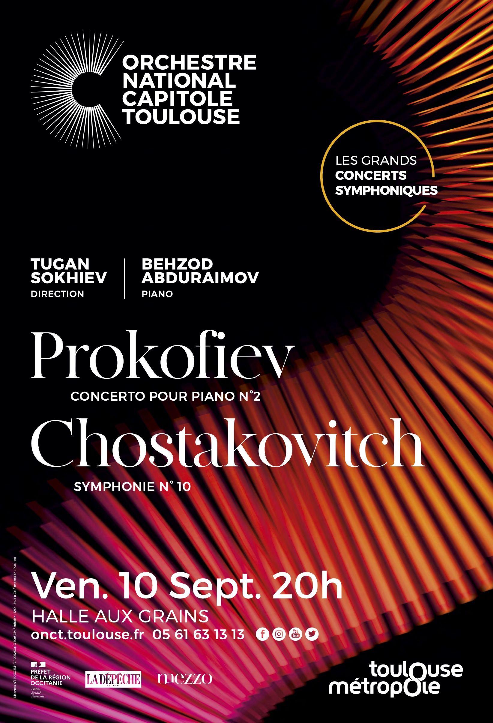 Orchestre national du Capitole - Prokofiev 10 sept
