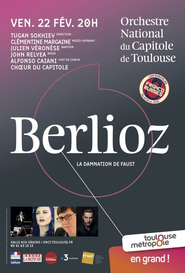 Orchestre National du Capitole - Berlioz