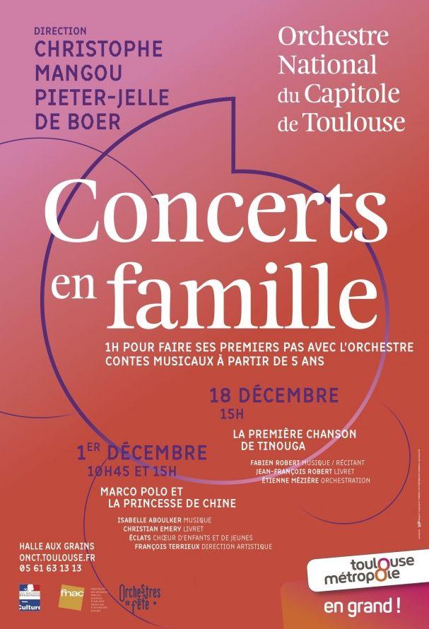 Orchestre National du Capitole - Concert en famille