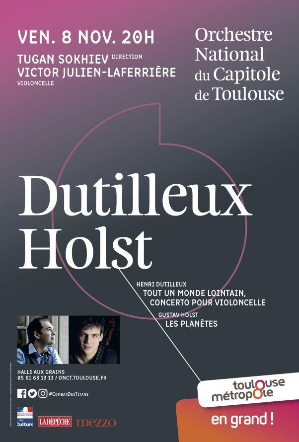 Orchestre National du Capitole - Dutilleux Holst